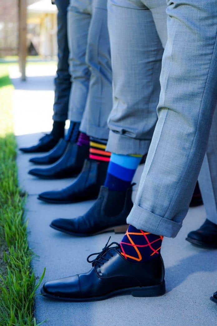 Bunte-Socken