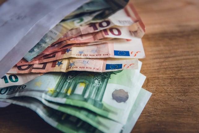 Geld-Pfand