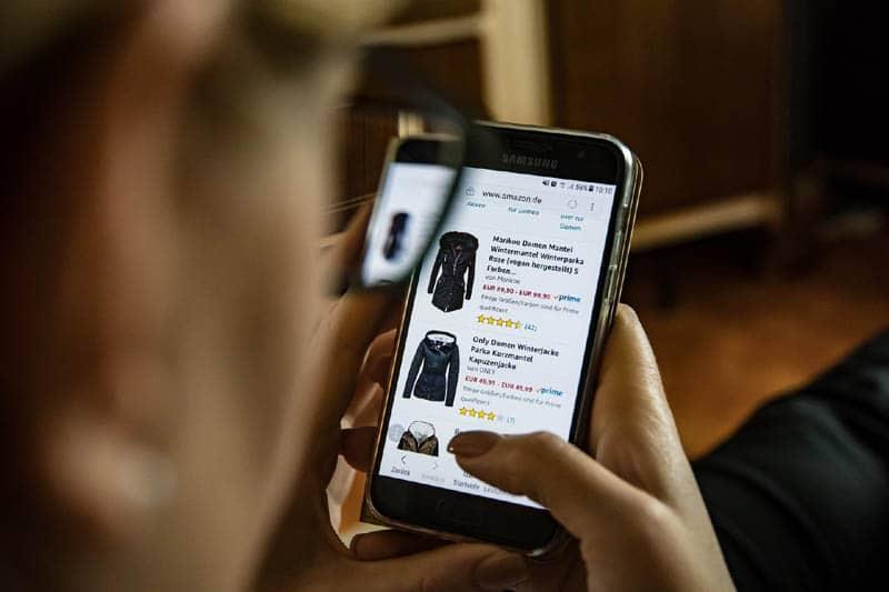 Mode online shoppen