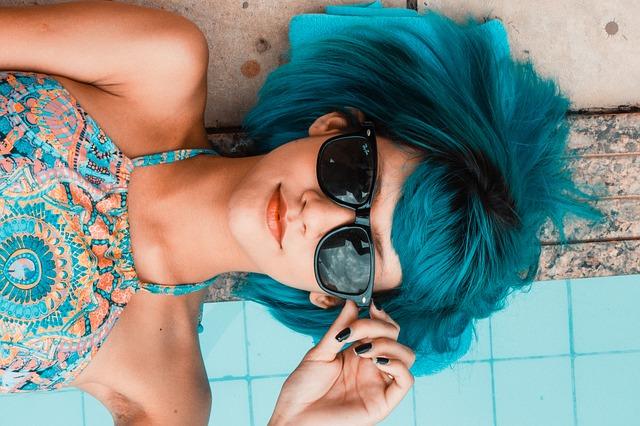Sonnenschutz mit Brille