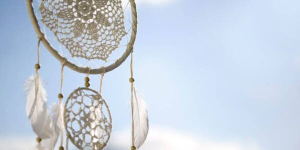 Modische Traumfänger: Träume einfangen und fliegen lassen