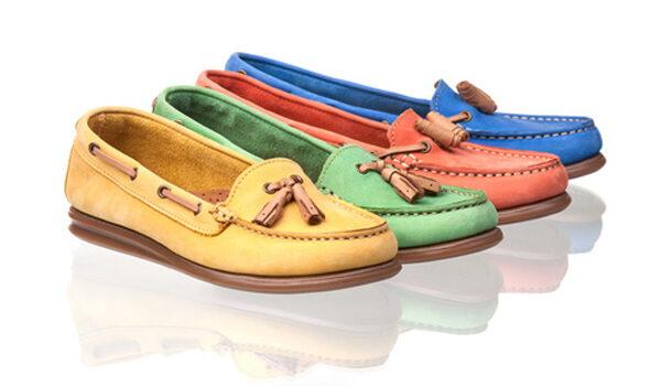 Mit flachen Schuhe optisch die Beine verlängern