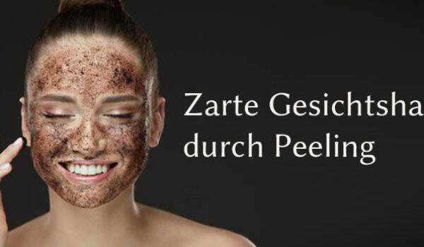 Zarte Gesichtshaut durch Anti-Aging-Peelings