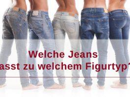 Zu welchem Figurtyp passt welcher Jeansschnitt?