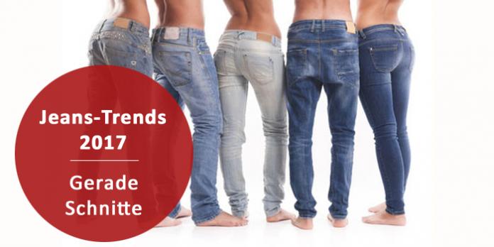 Jeans-Trends 2017: Gerade Schnitte und viel DIY