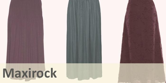 Die neue Rockmode für den Winter: Der Maxi-Rock