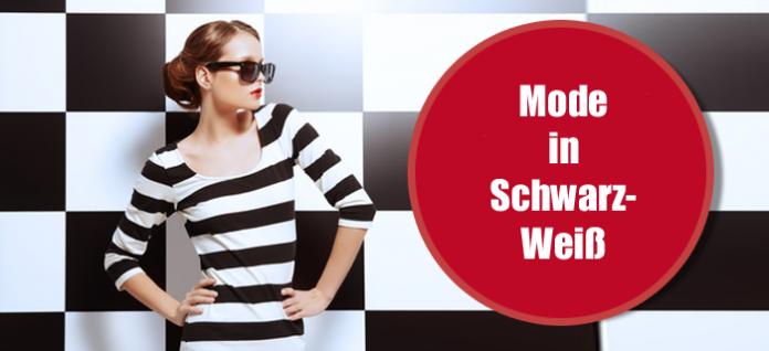 Grafische Mode in Schwarz-Weiß - Ein großer Modetrend für Frühjahr/Sommer 2013