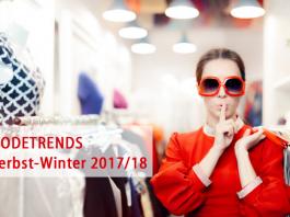 Die Modetrends für Herbst/Winter 2017/18: Rot im Allover-Look, Metallic, Cord und immer wieder Samt