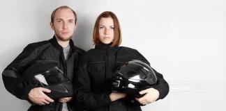 Retro-Motorradjacken