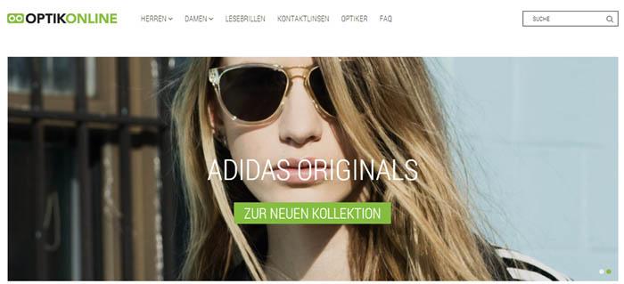 Großes Brillenangebot auf Optikonline.ch