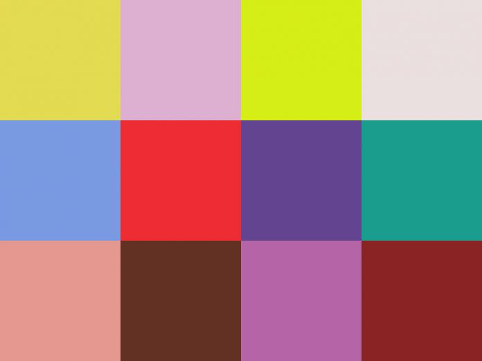 Die PANTONE-Modefarben für das Frühjahr 2018