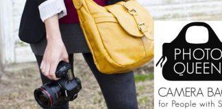 Modische Kamerataschen für Fotografinnen von Photoqueen