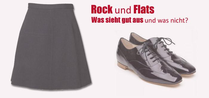 Rock und Flats: Welches Styling gut aussieht und welches nicht