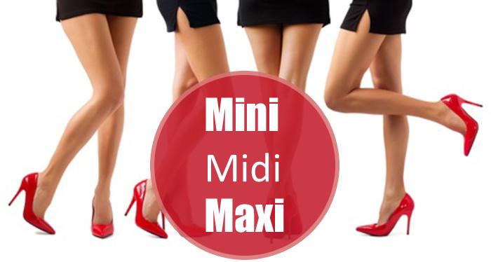 Mini, Midi, Maxi: Die gängigsten Rocklängen in der Damenmode