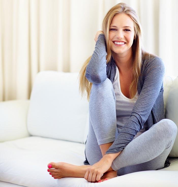 Mode für zu Hause — leger und gemütlich soll es sein