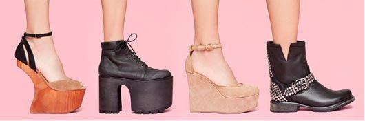 Schuhe von Nasty Gal