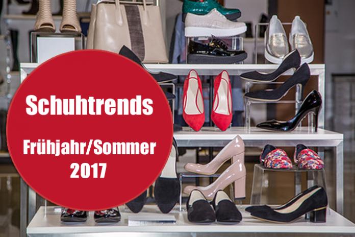 Die Schuhtrends für Frühjahr/Sommer 2017: Blumen, Metallic und Pantoletten