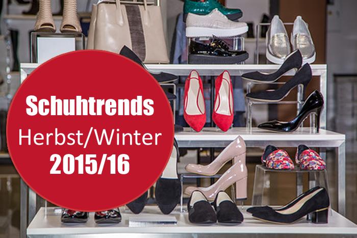 Stiefel, Pumps, flache Schuhe: Die Schuhtrends für Herbst/Winter 2015/16