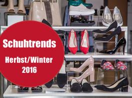Die Schuhtrends für Herbst/Winter 2016: Samt, Blumenmuster, Metallicfarben, weiße Schuhe
