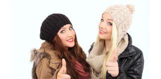 Herbst-/Wintermode: Lässige Strickmützen für kalte Tage