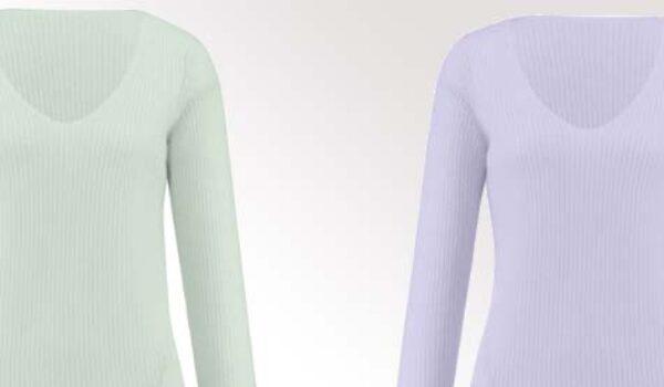 Modeklassiker: Pullover mit V-Ausschnitt