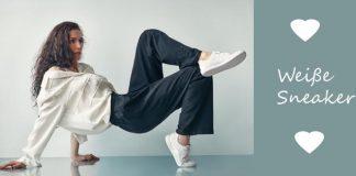 Modetrend 2015: Weiße Sneaker (speziell Stan Smith Adidas)