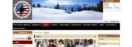 Westernmode online