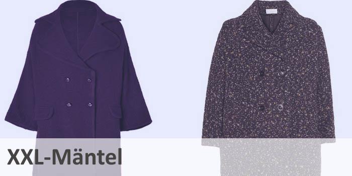 Aktueller Modetrend: XXL-Mäntel